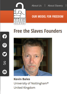 Free The Slaves Founder